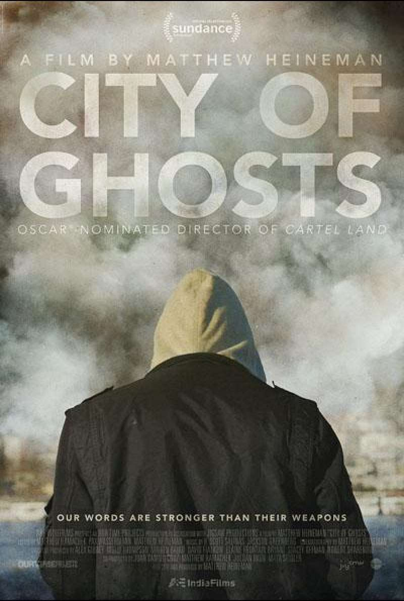 City of Ghosts von Matthew Heineman - Filmplakat