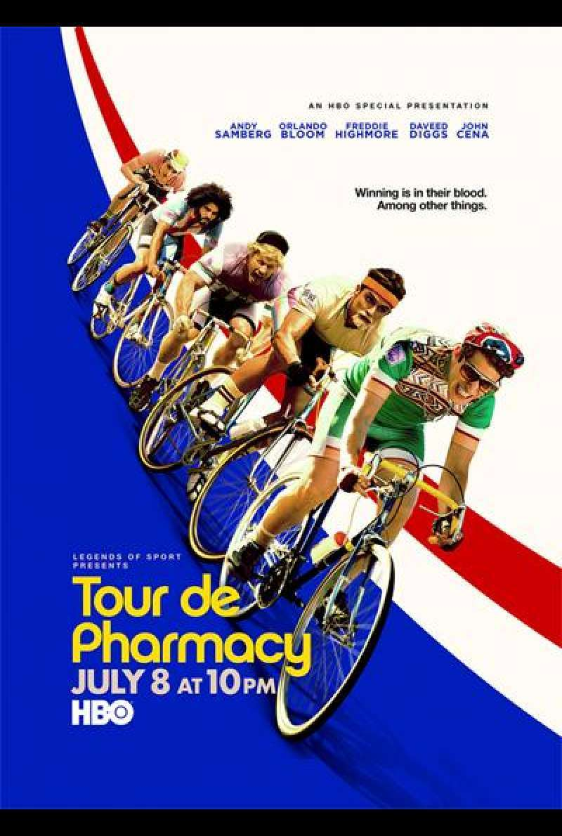 Tour de Pharmacy von Jake Szymanski - Filmplakat