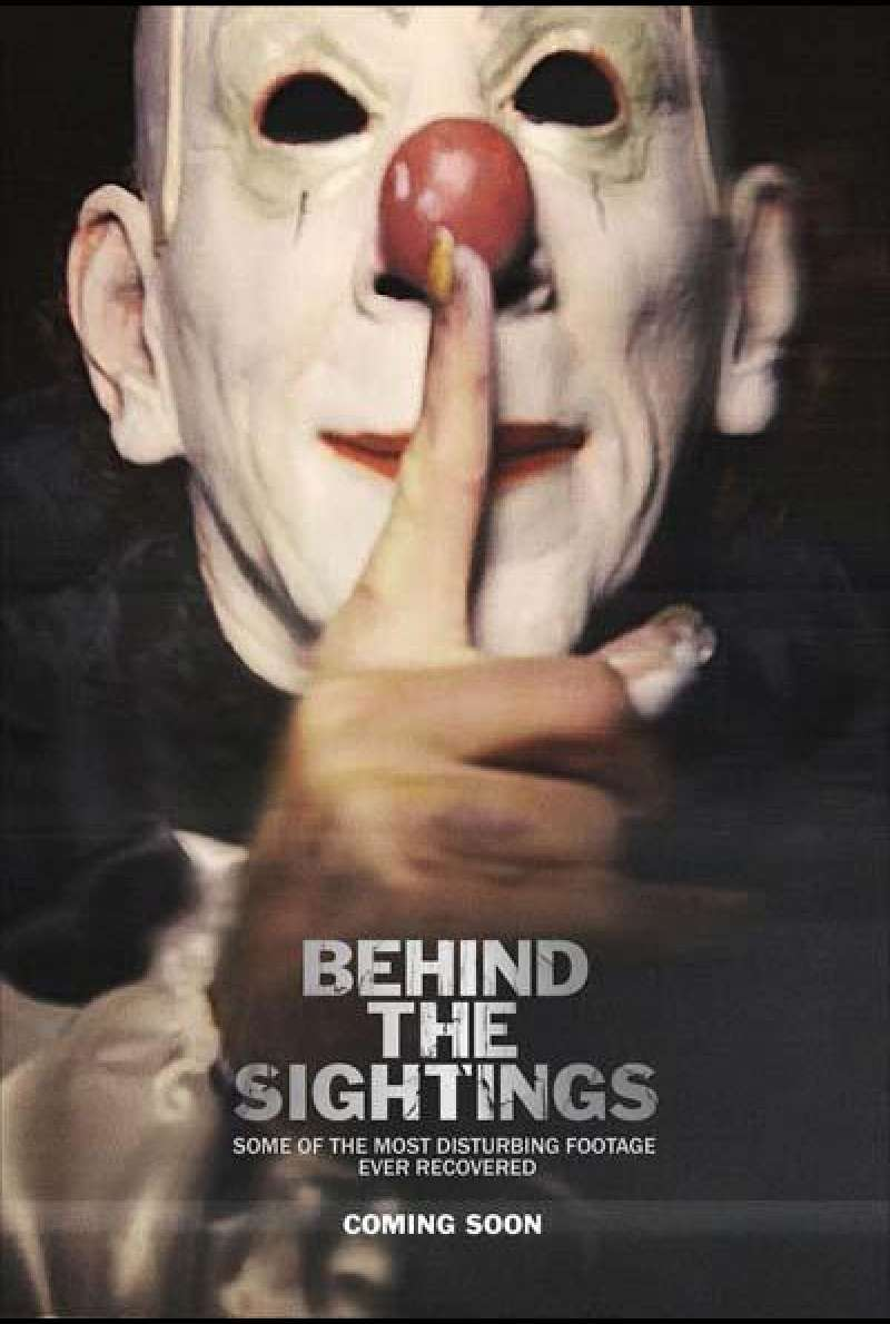 Behind the Sightings von Tony Cadwell - Filmplakat