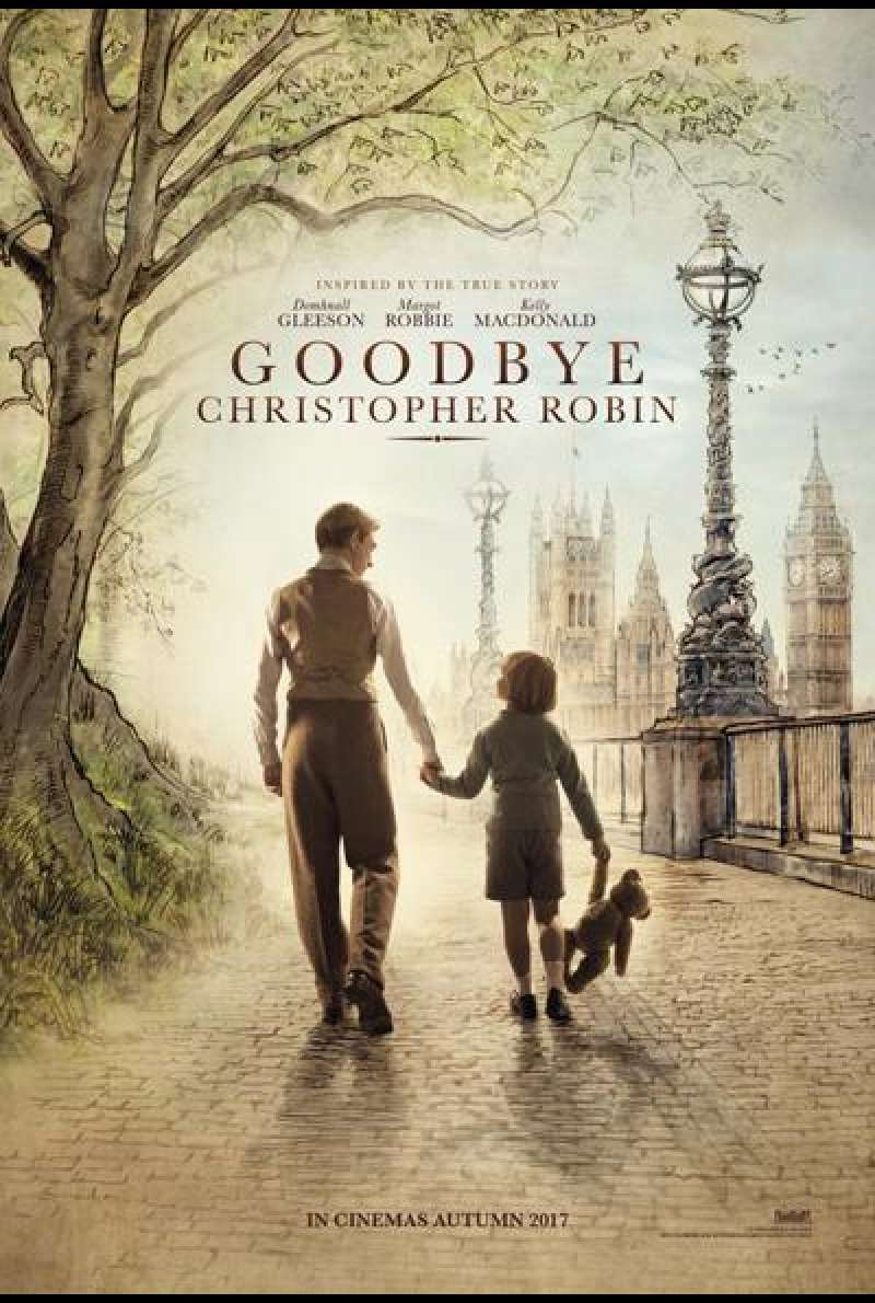 Goodbye Christopher Robin von Simon Curtis - Filmplakat