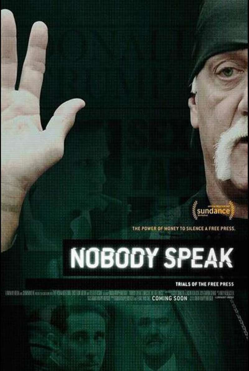 Nobody Speak: Trials of the Free Press von Brian Knappenberger - Filmplakat