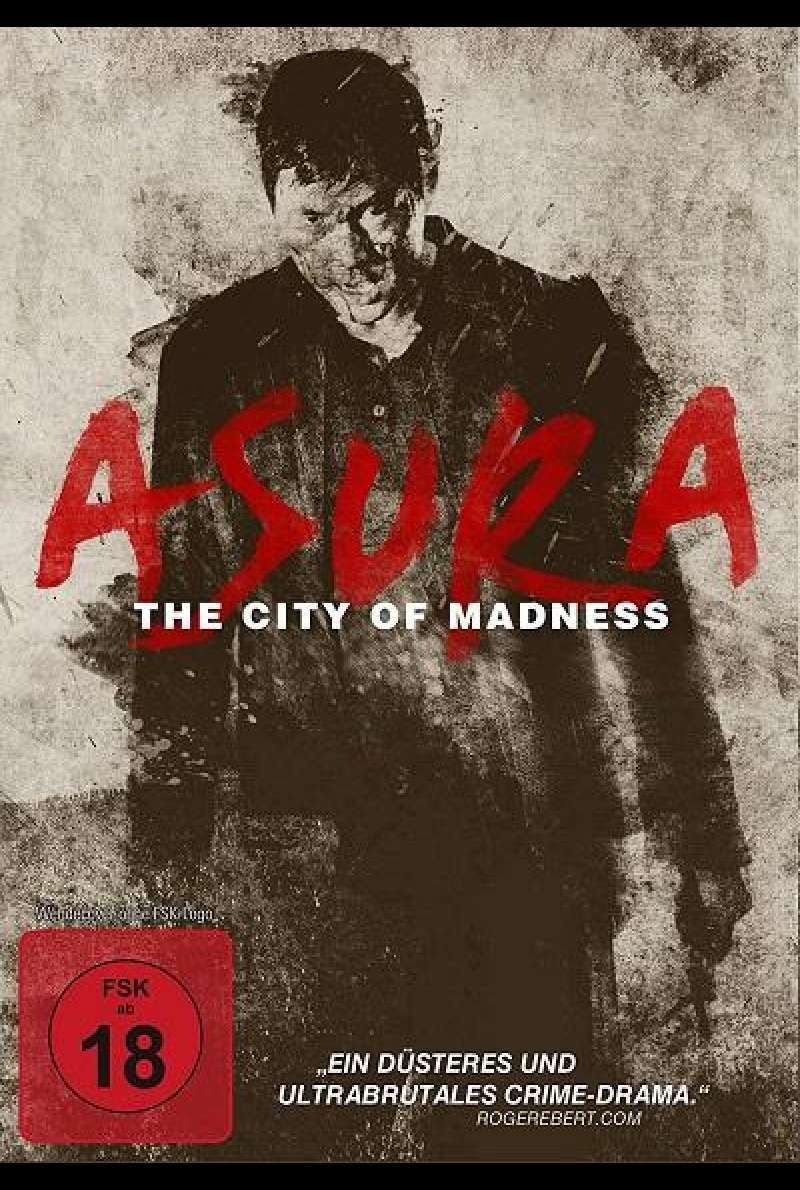 Asura: The City of Madness - DVD-Cover