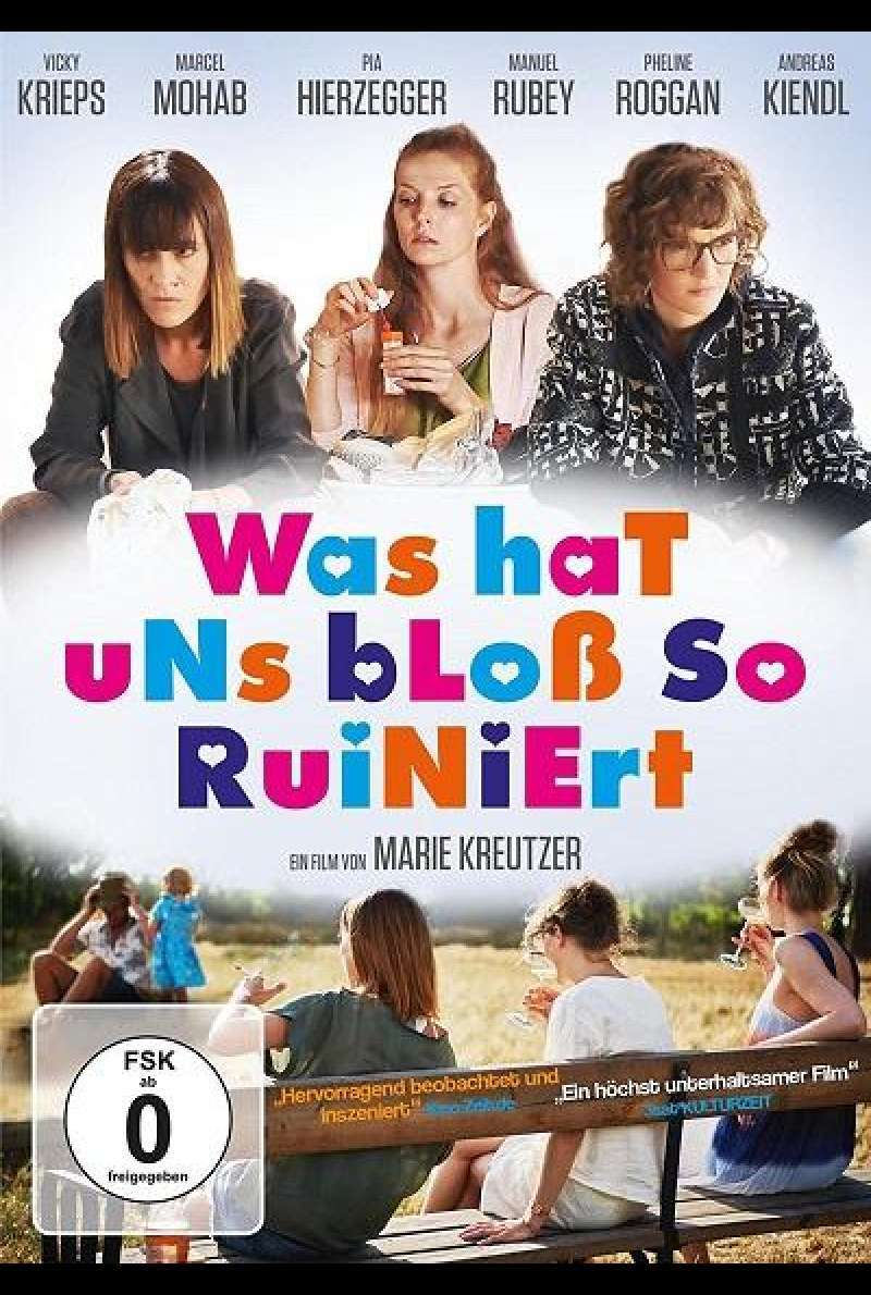 Was hat uns bloß so ruiniert - DVD-Cover