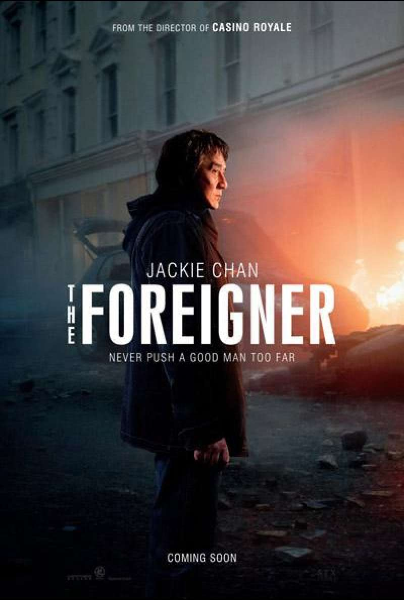 The Foreigner von Martin Campbell  - Filmplakat