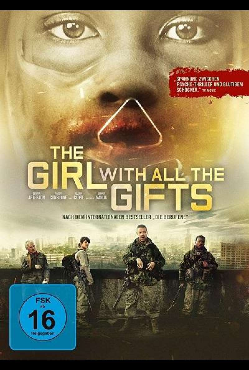 The Girl with All the Gifts - DVD-Cover