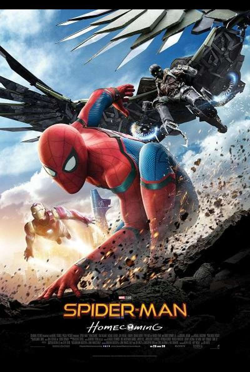 Spider-Man: Homecoming - Filmplakat