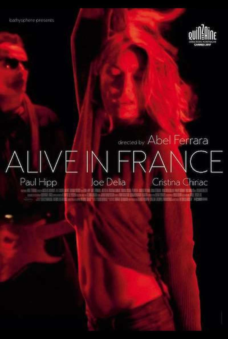 Alive in France - Filmplakat