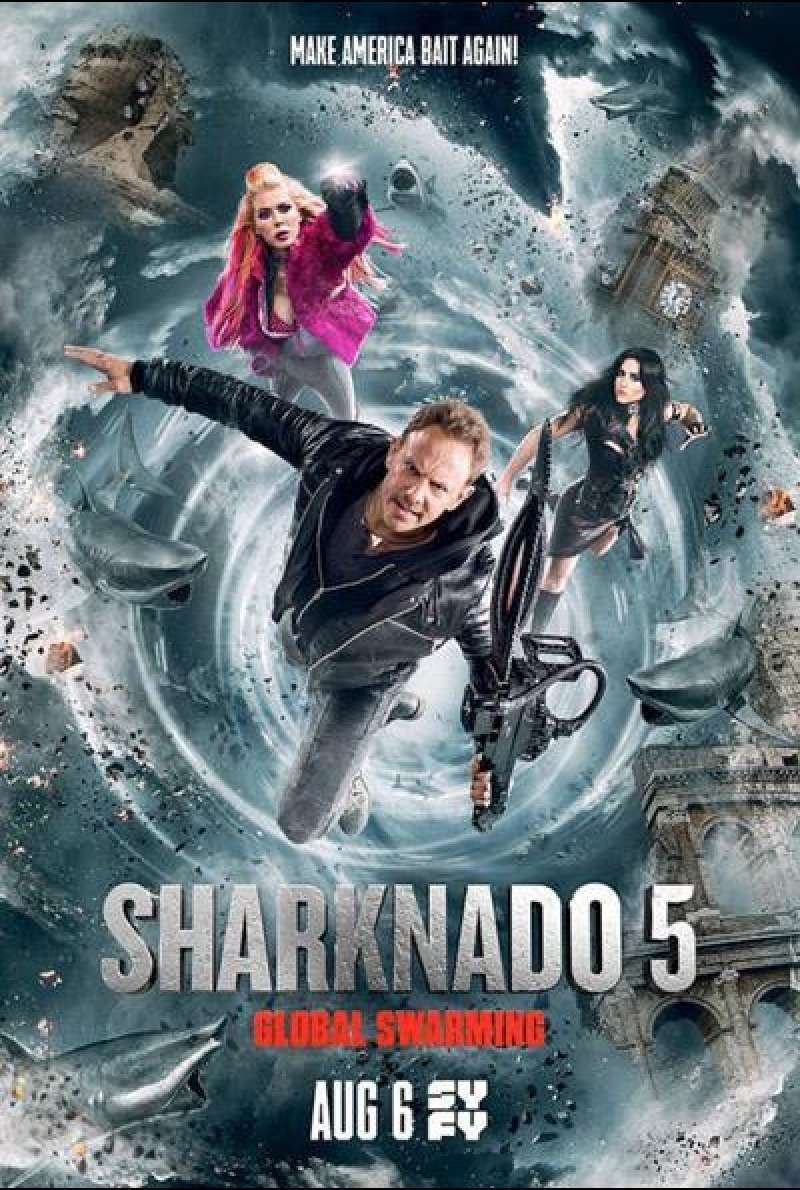 Sharknado 5: Global Swarming von Anthony C. Ferrante - Filmplakat
