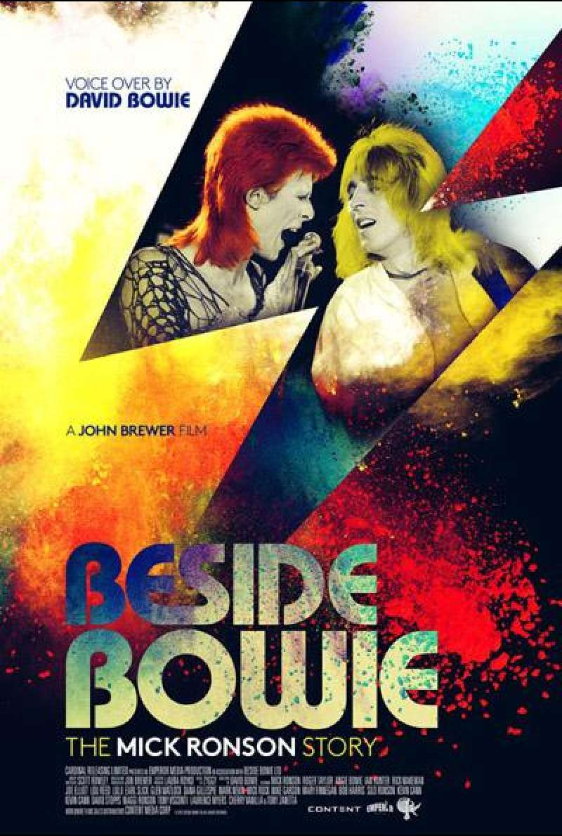 Beside Bowie: The Mick Ronson Story von Jon Brewer - Filmplakat