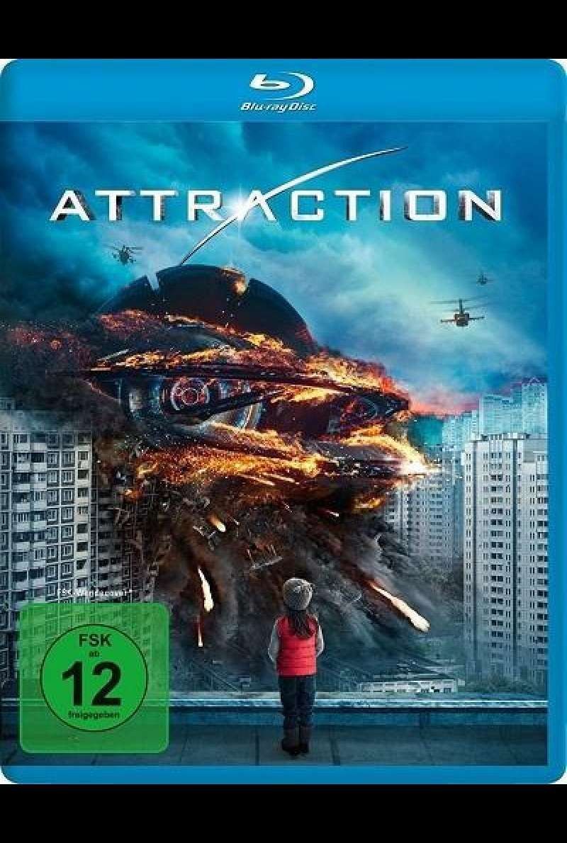 Attraction - Blu-ray-Cover
