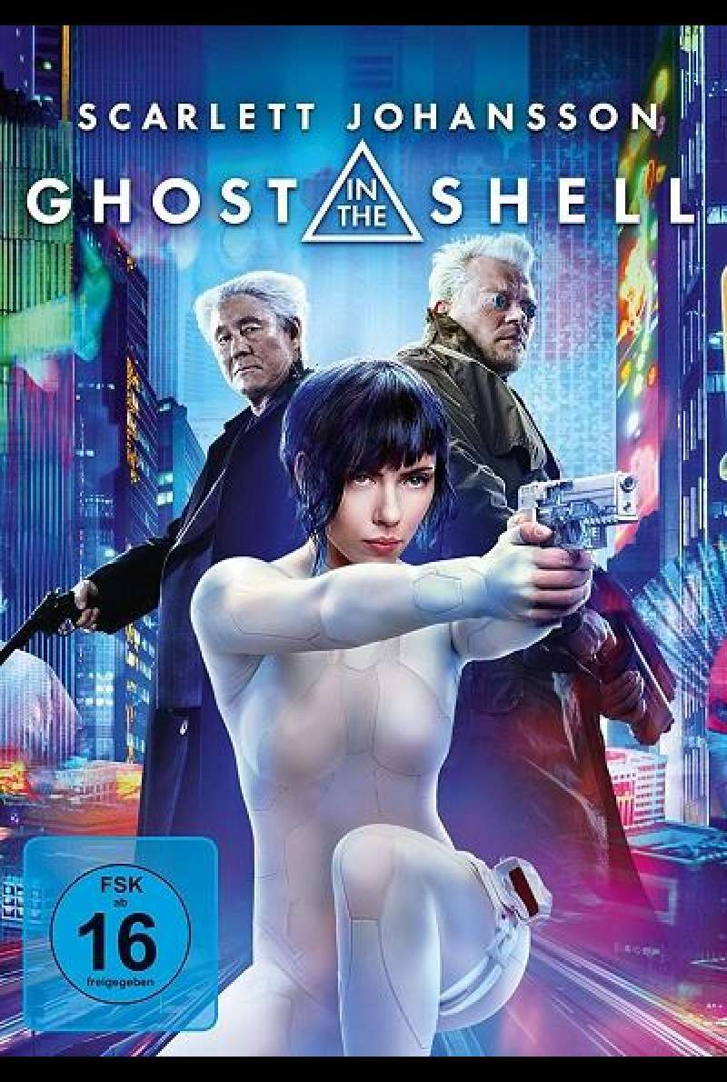 Ghost in the Shell - DVD-Cover