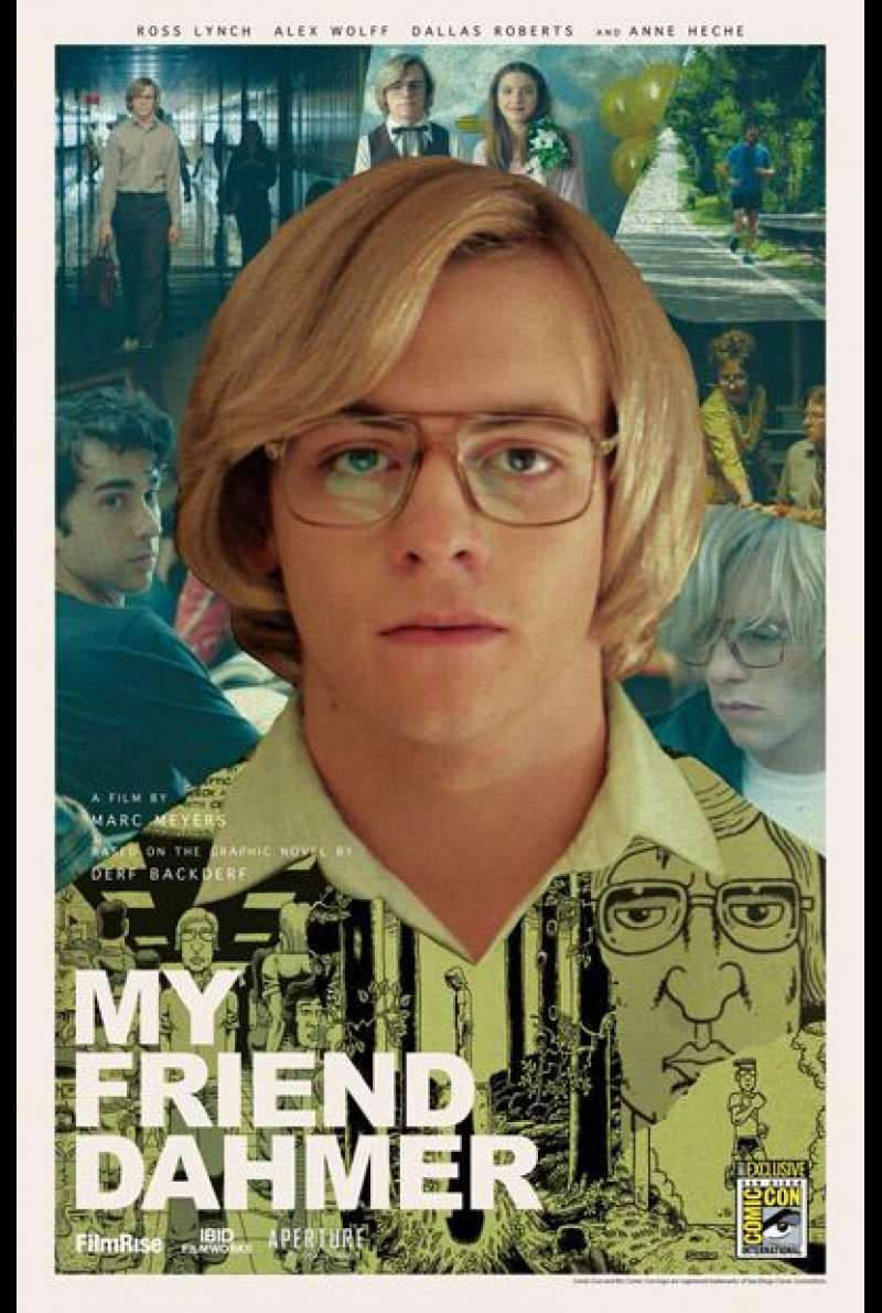 My Friend Dahmer von Marc Meyers - Filmplakat