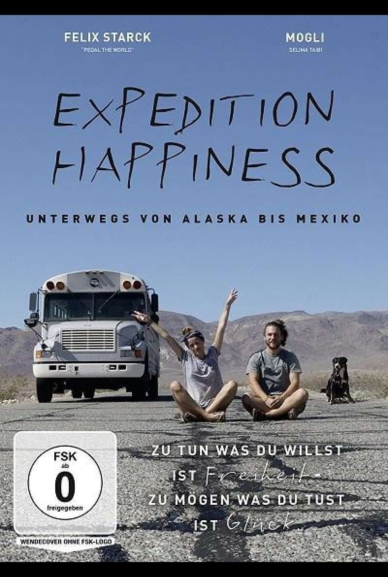 Expedition Happiness - DVD-Cover