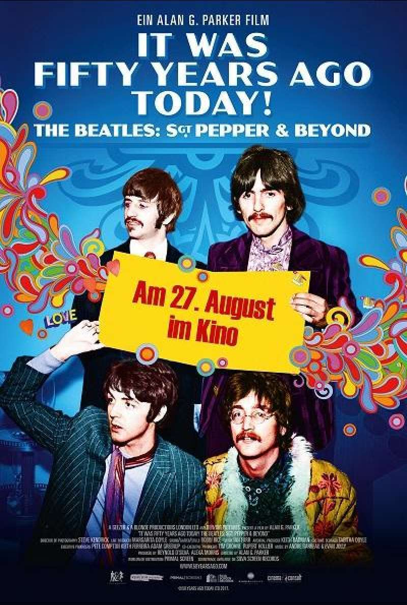 It Was Fifty Years Ago Today! The Beatles: Sgt. Pepper & Beyond - Filmplakat
