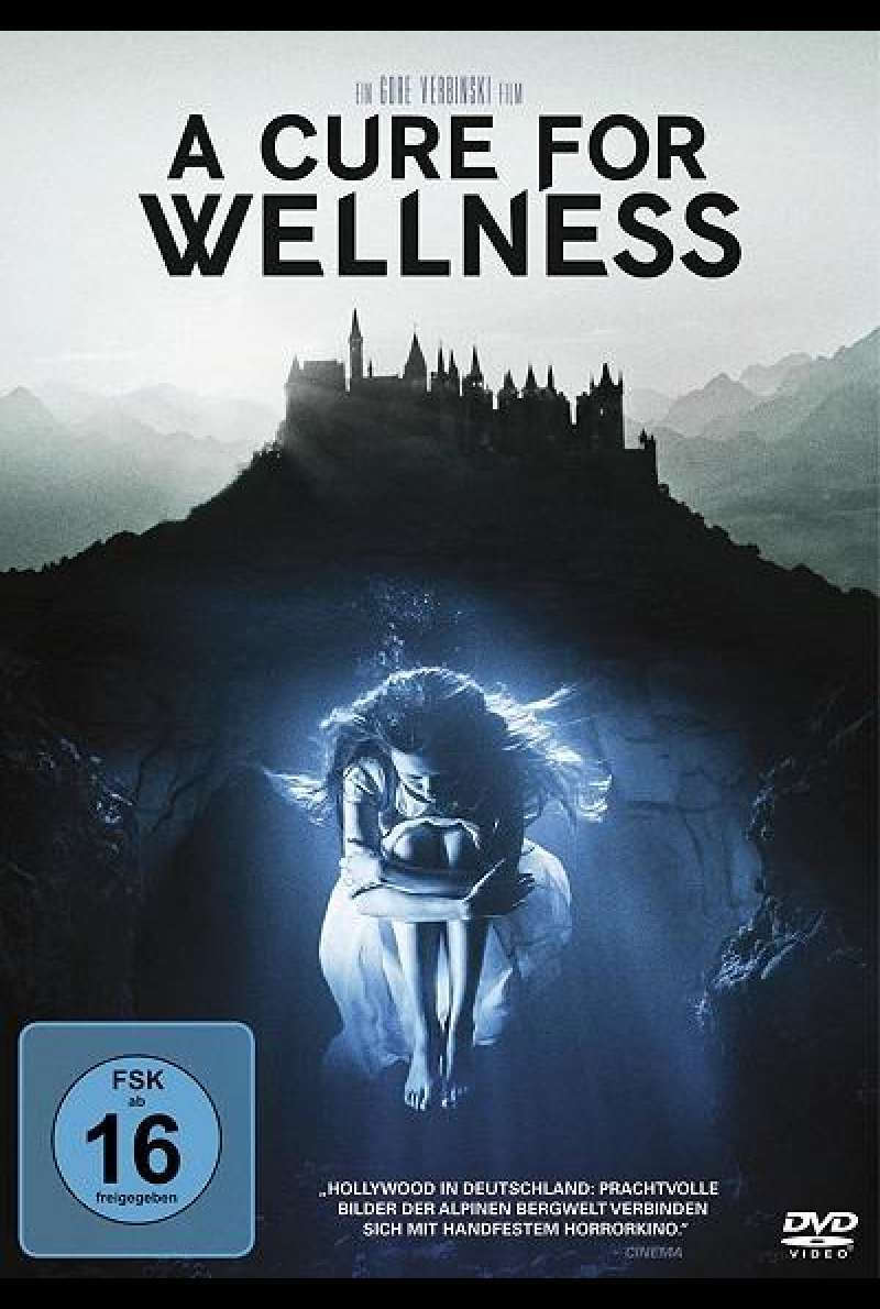 A Cure For Wellness - DVD-Cover
