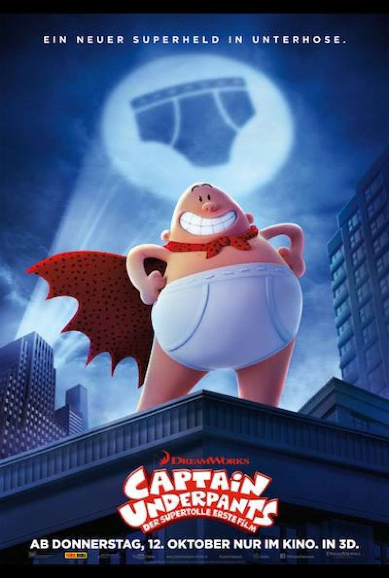 Captain Underpants - Filmplakat