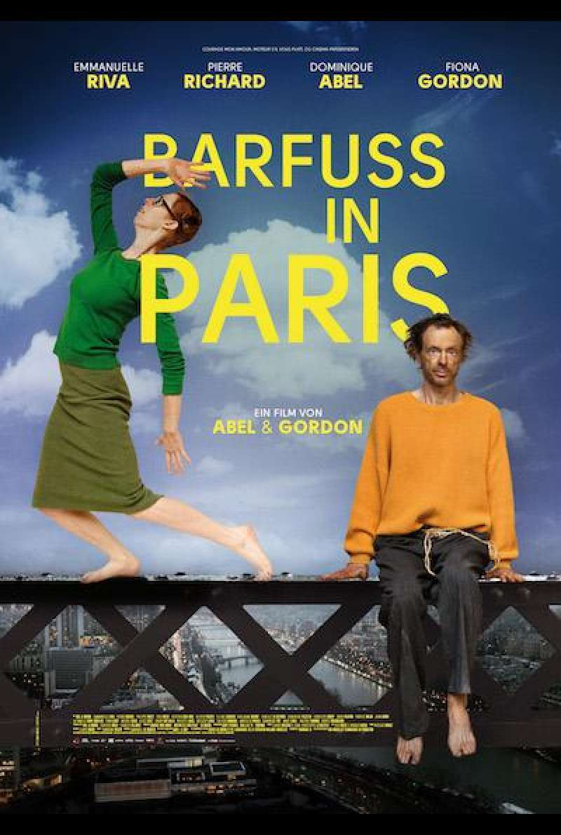 Barfuss in Paris - Filmplakat