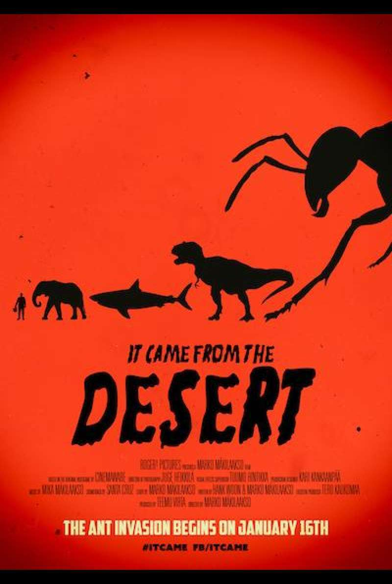 It Came From the Desert - Filmplakat (INT)