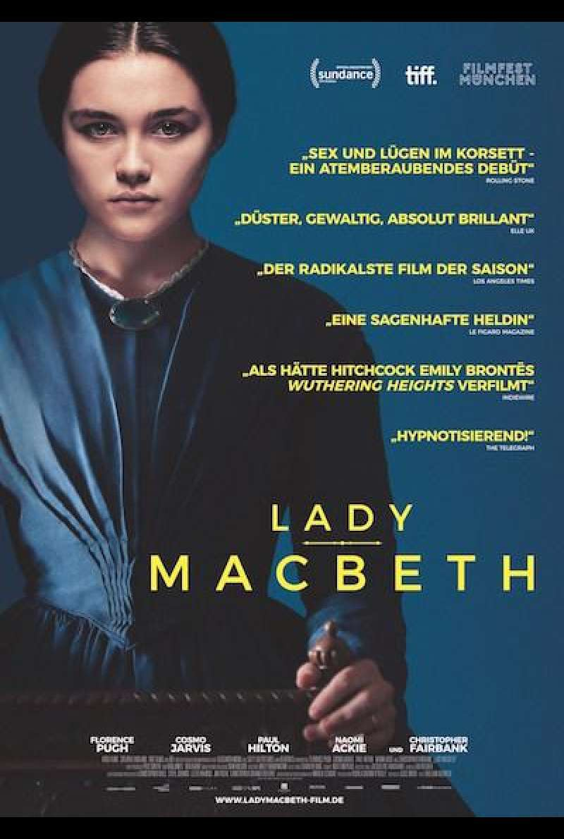 Lady Macbeth von William Oldroyd - Filmplakat