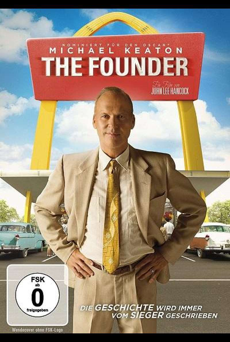 The Founder - DVD-Cover