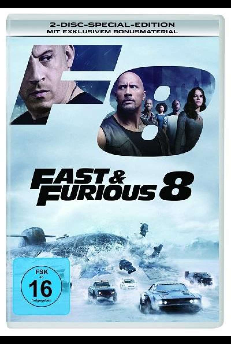 Fast & Furious 8 - DVD-Cover
