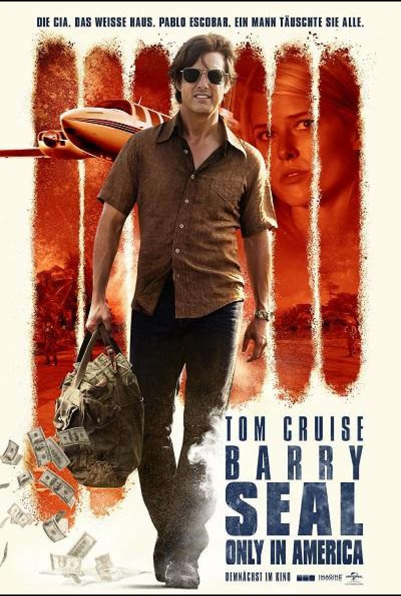 Barry Seal - Only in America - Filmplakat