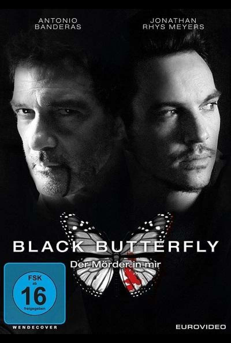 Black Butterfly - Der Mörder in mir - DVD-Cover