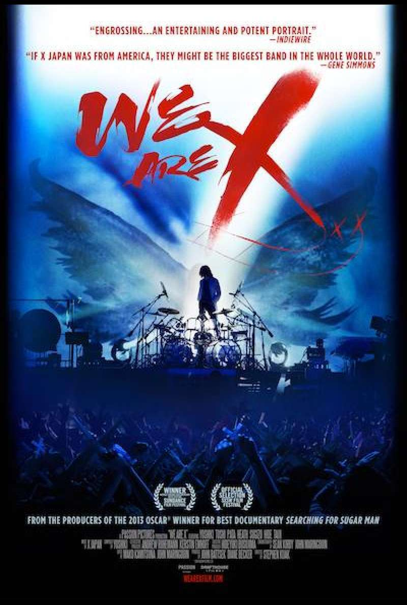We Are X - Filmplakat