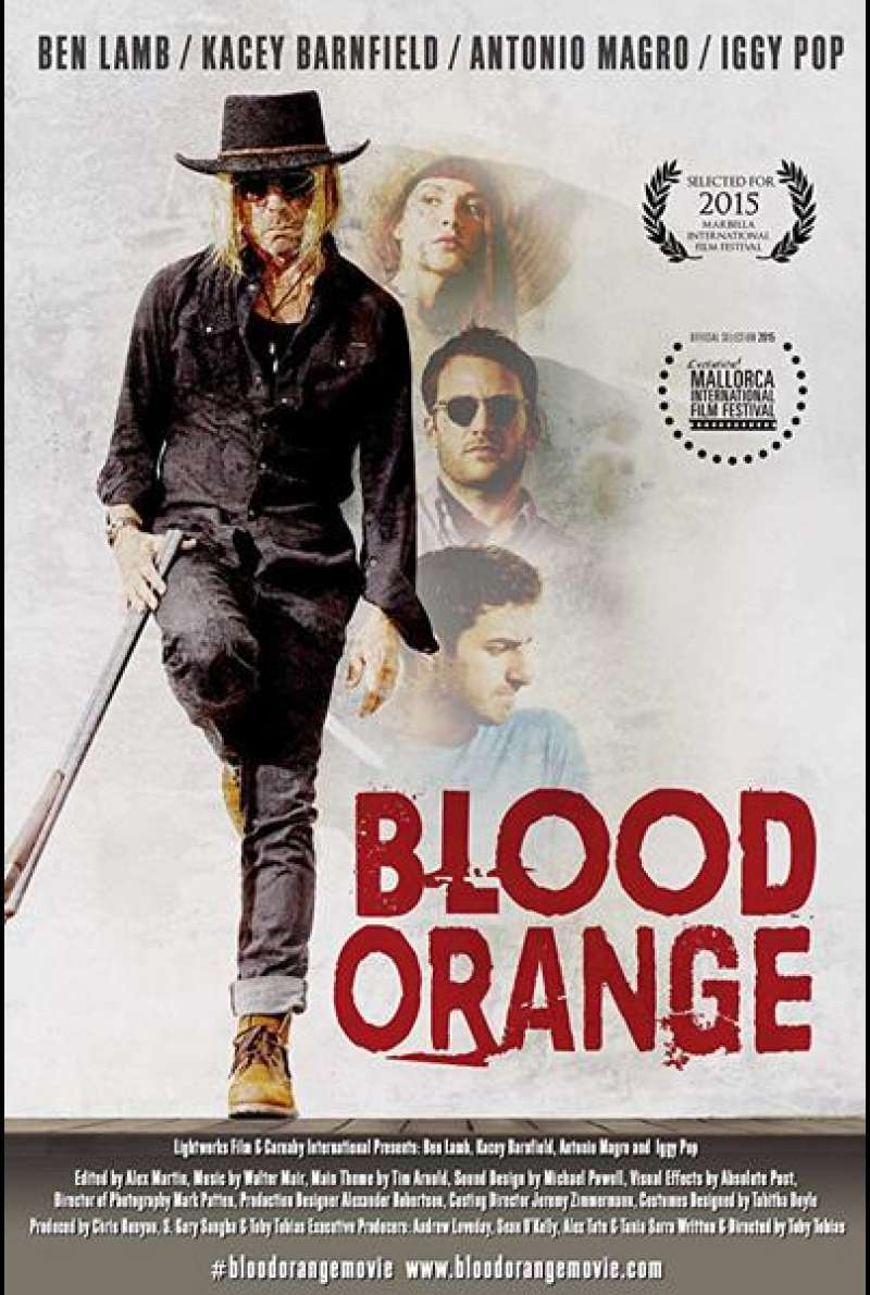 Blood Orange von Toby Tobias - Filmplakat