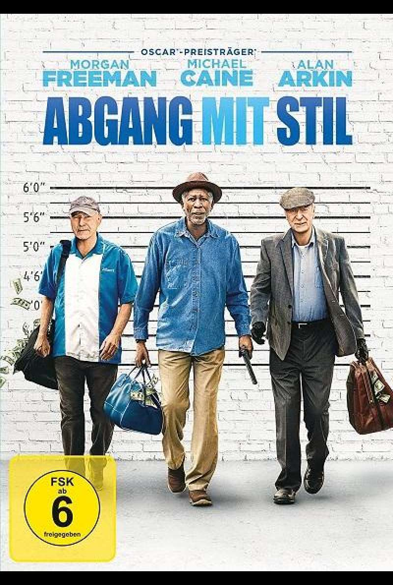 Abgang mit Stil - DVD-Cover