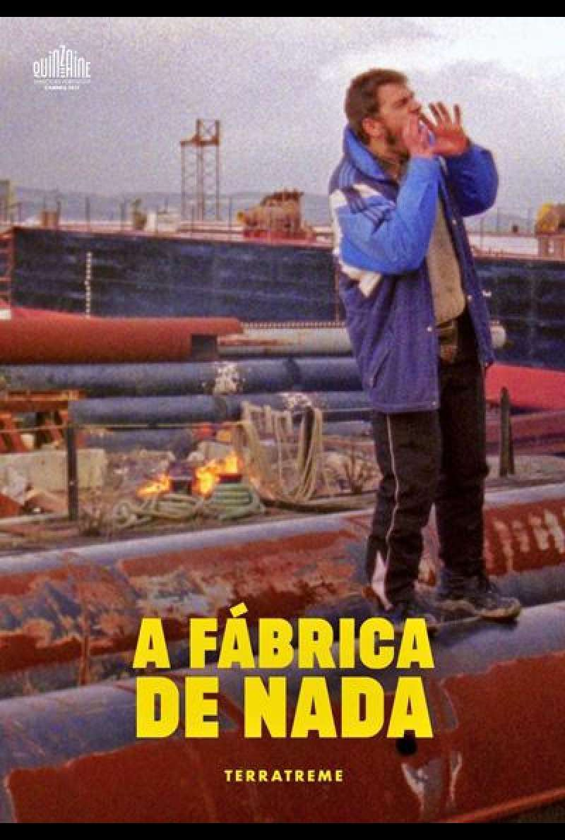 The Nothing Factory von Pedro Pinho - Filmplakat