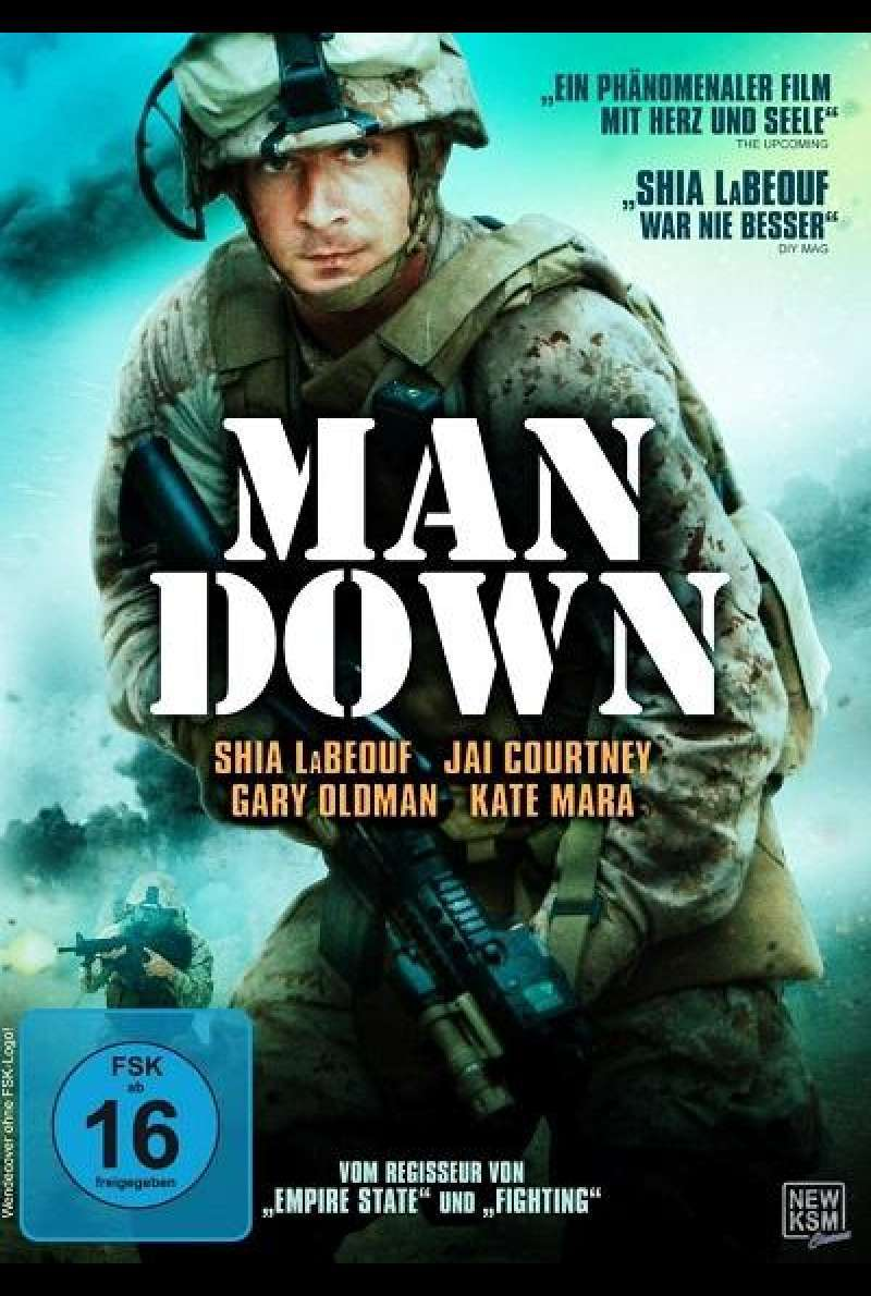 Man Down - DVD-Cover