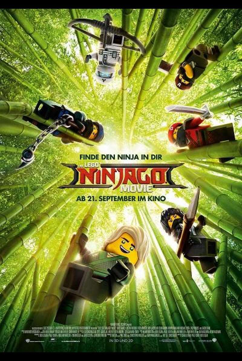 The Lego Ninjago Movie - Filmplakat