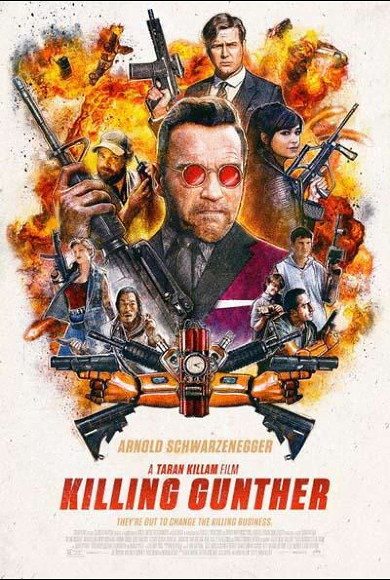 Killing Gunther von Taran Killam - Filmplakat