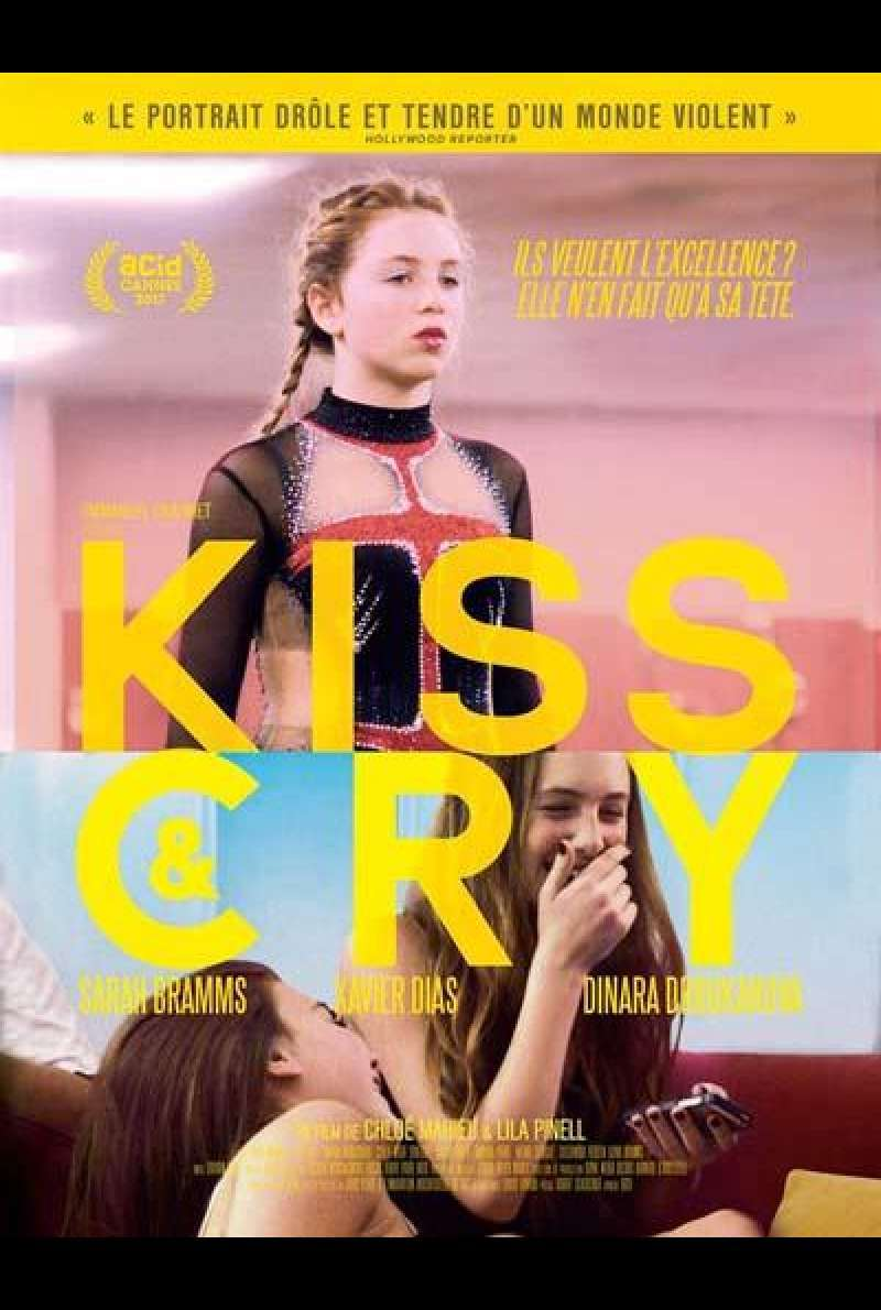 Kiss and cry von Chloé Mahieu und Lila Pinell - Filmplakat (FR)