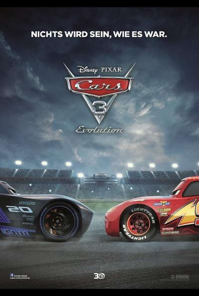 Cars 3 - Evolution - Filmplakat