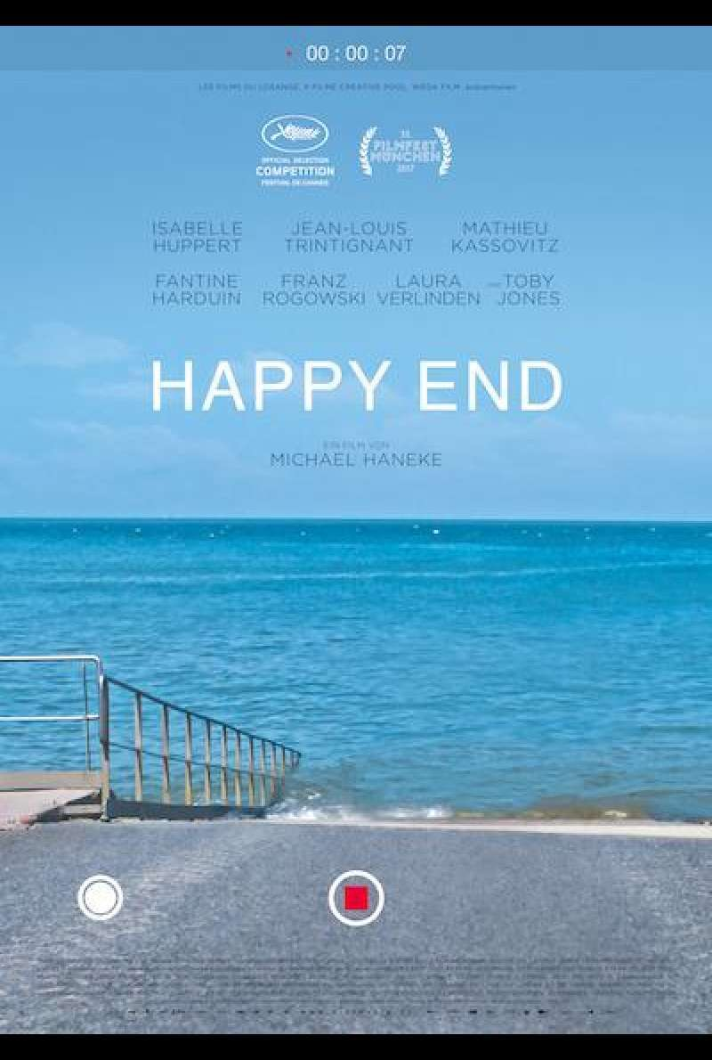 Happy End von Michael Haneke - Filmplakat