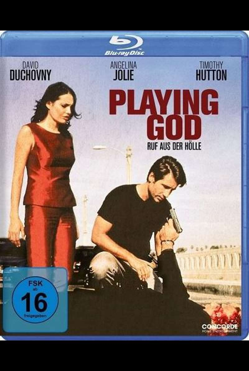 Playing God - Blu-ray-Cover