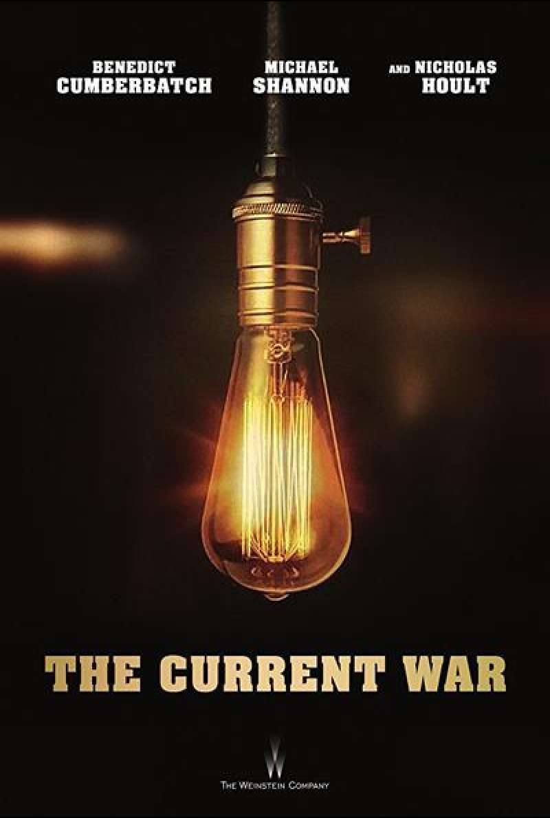 The Current War von Alfonso Gomez-Rejon - Filmplakat (US)