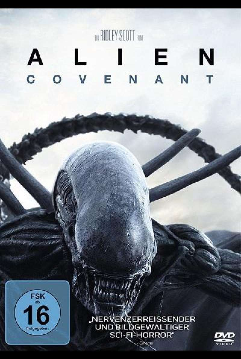 Alien: Covenant - DVD-Cover