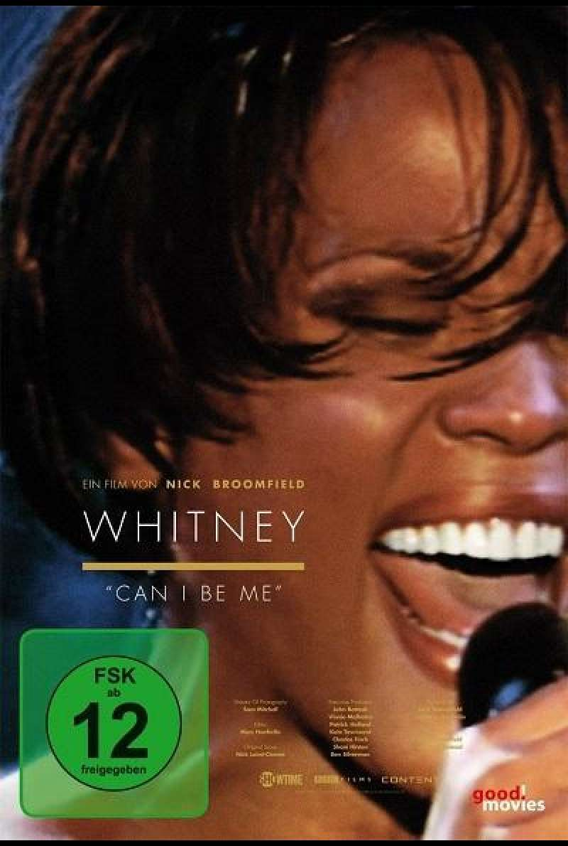 Whitney - Can I Be Me? (OmU) - DVD-Cover
