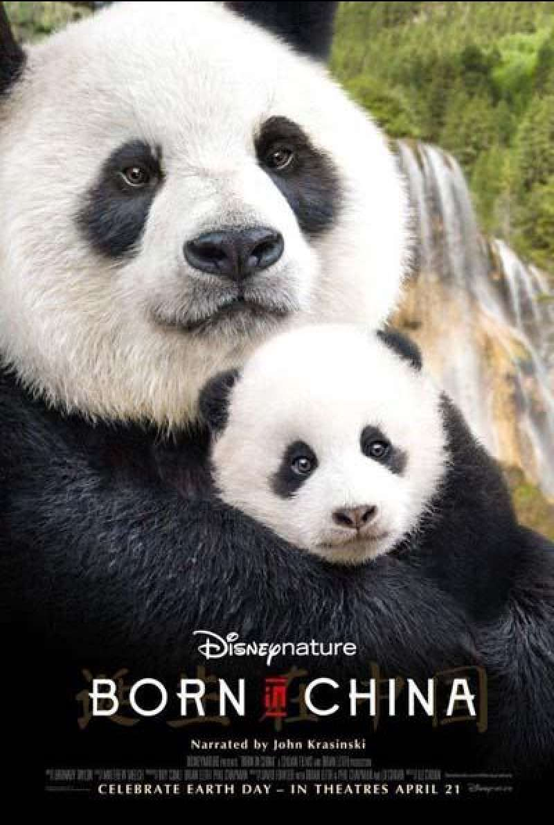 Born in China - Filmplakat (US)