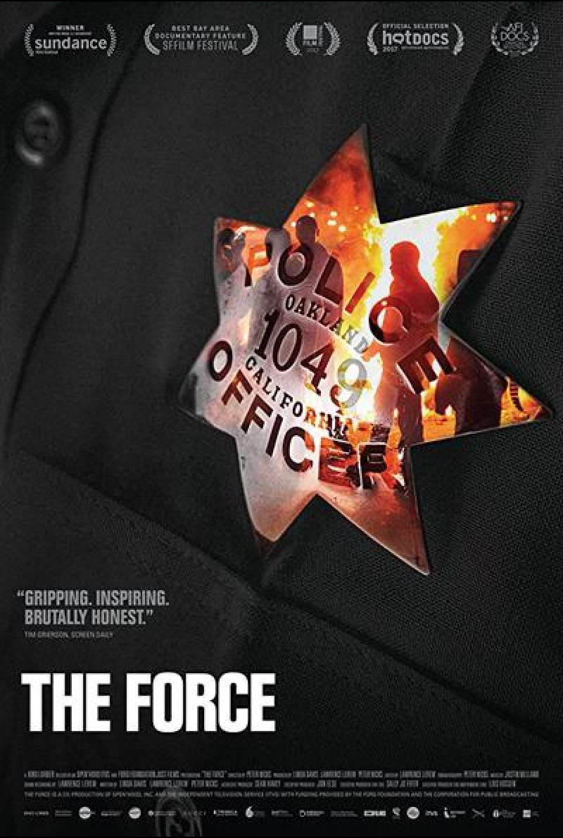 The Force von Peter Nicks - Filmplakat