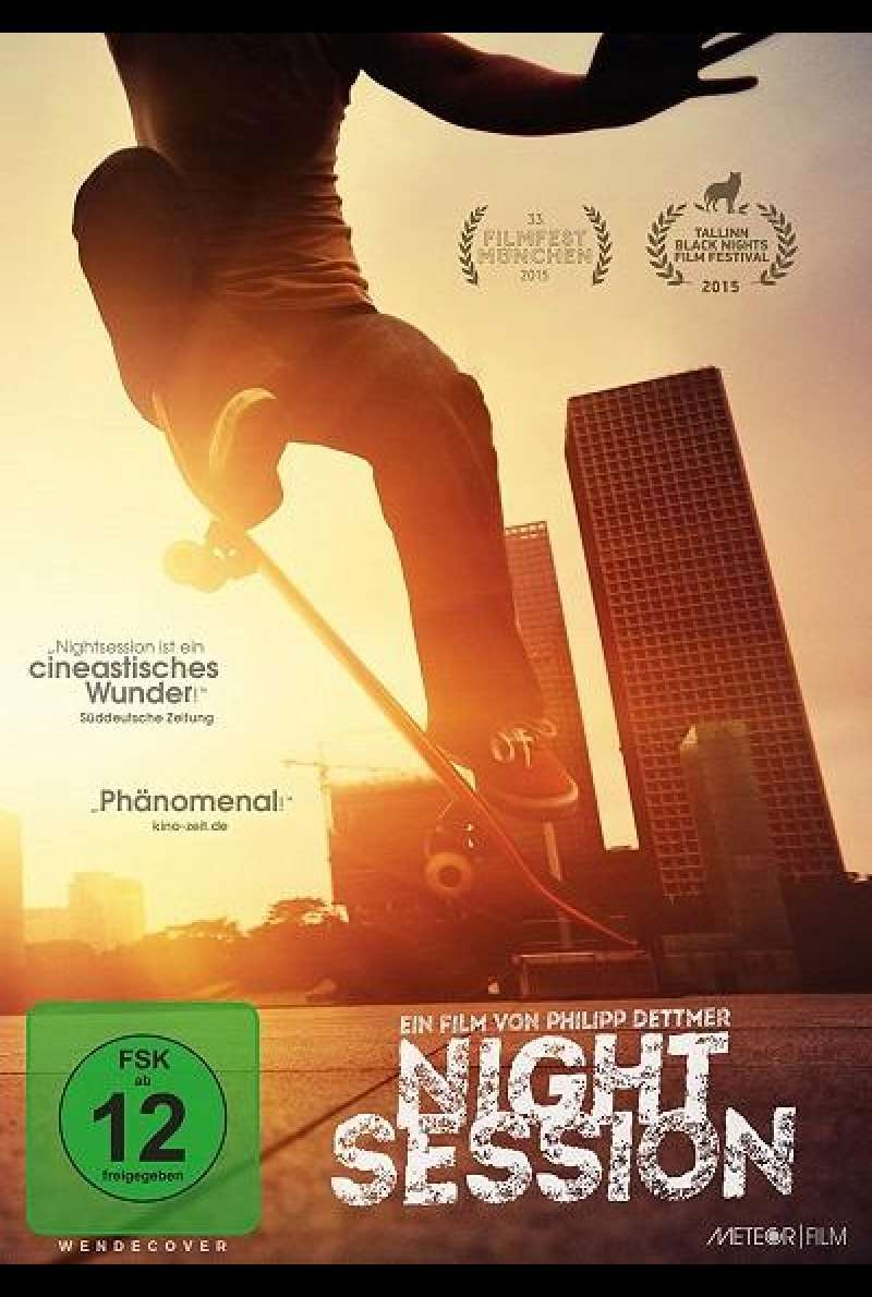 Nightsession - DVD-Cover