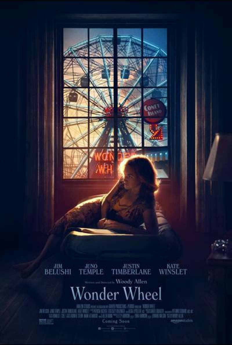 Wonder Wheel von Woody Allen - Filmplakat