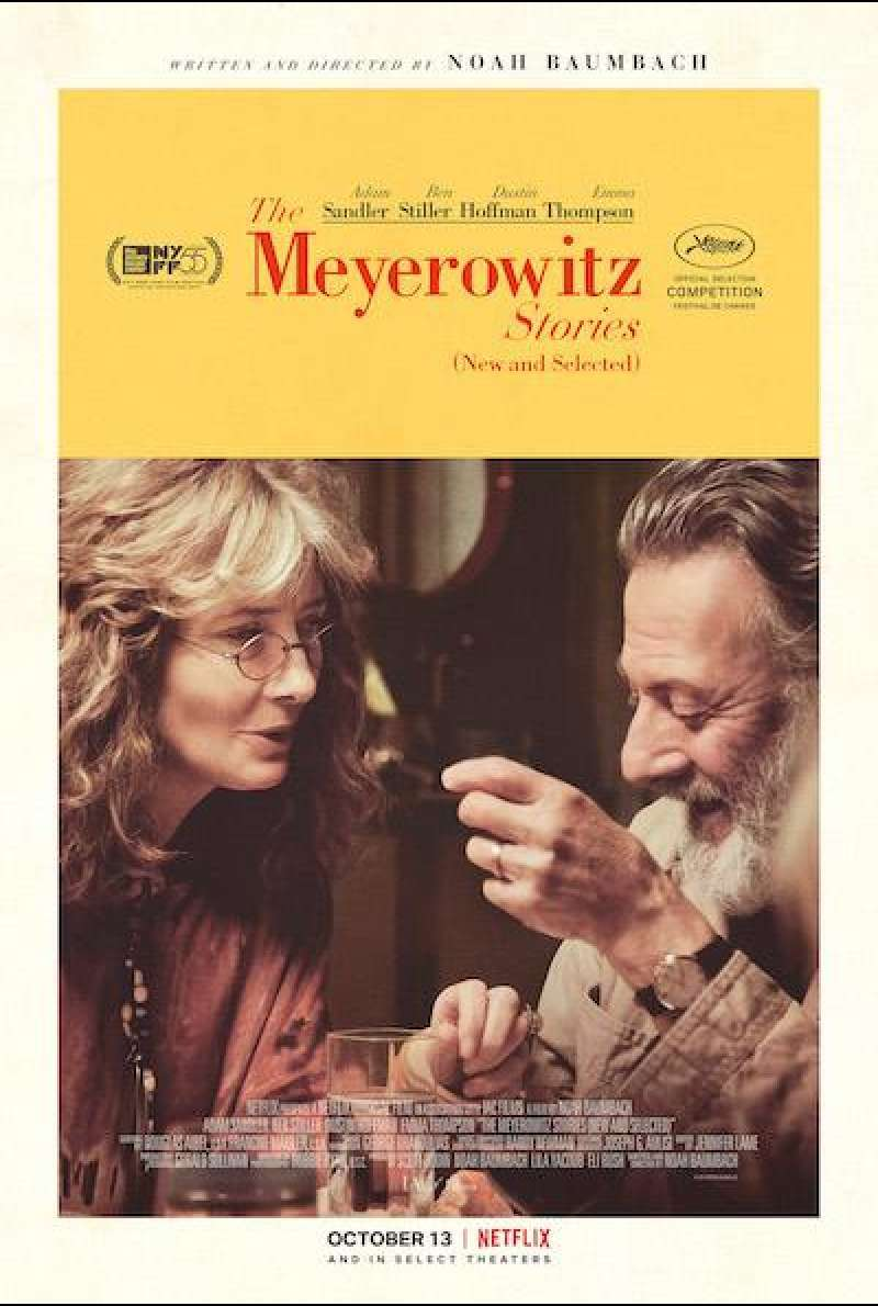 The Meyerowitz Stories - Filmplakat