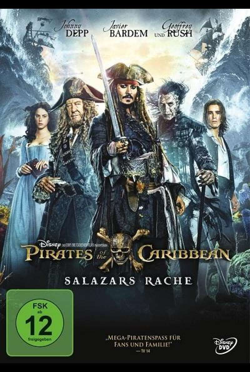 Pirates of the Caribbean: Salazars Rache - DVD-Cover