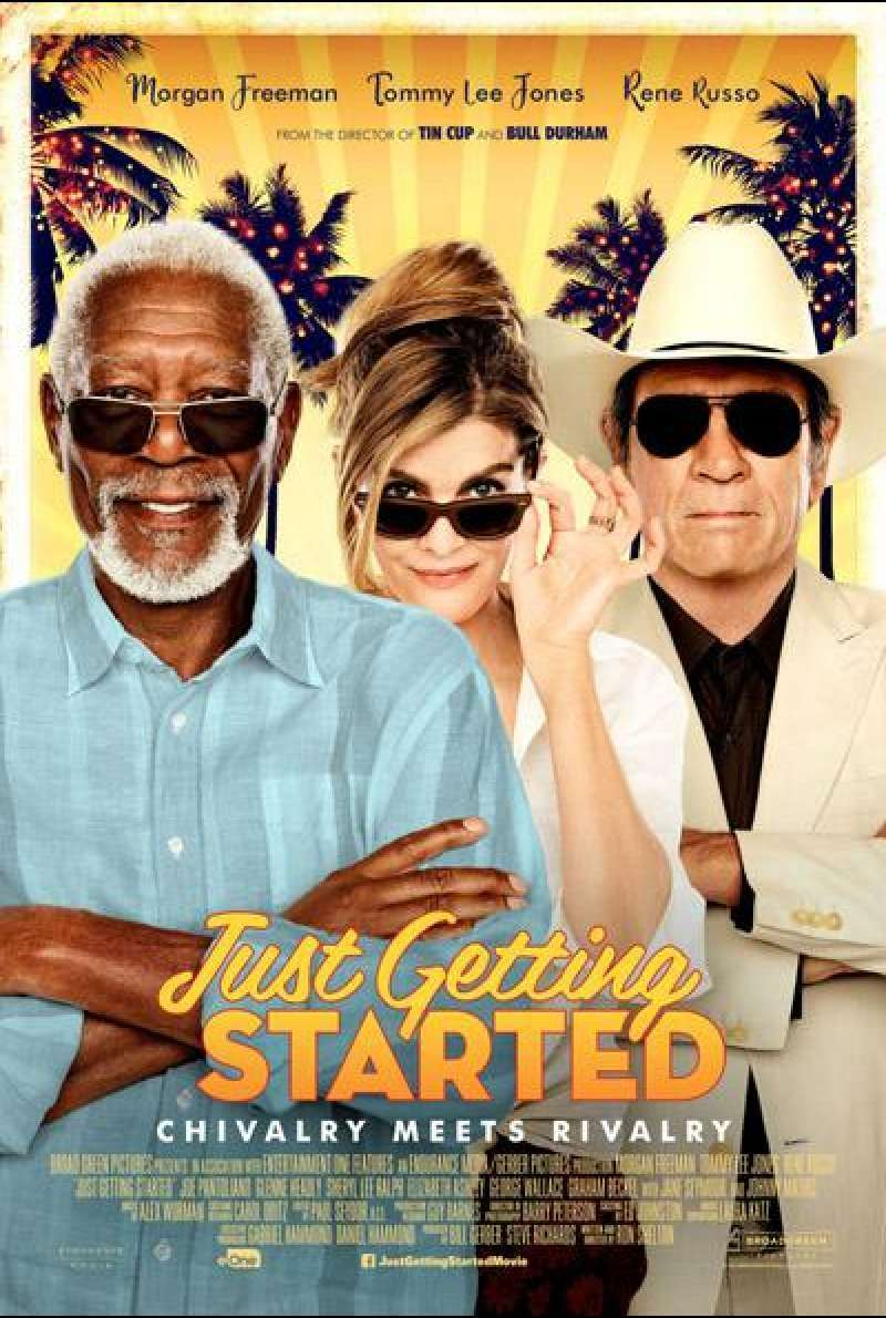 Just Getting Started von Ron Shelton - Filmplakat