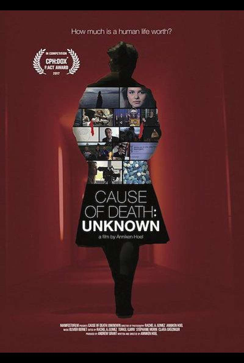 Cause of Death: Unknown - Filmplakat