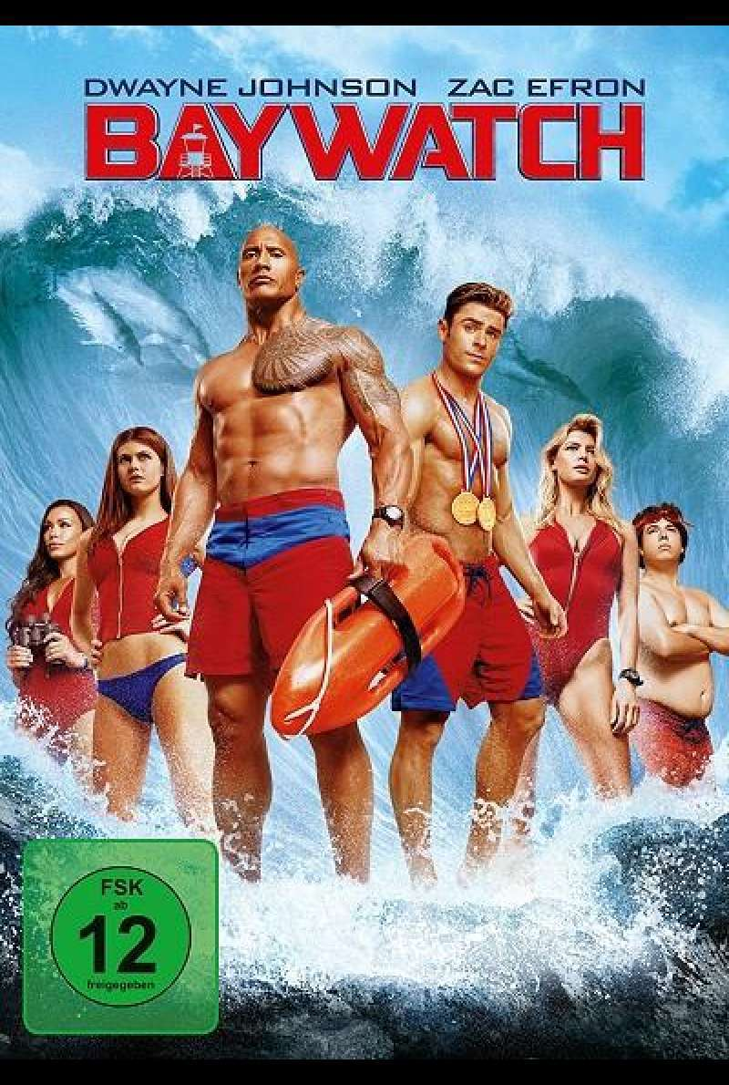 Baywatch - DVD-Cover